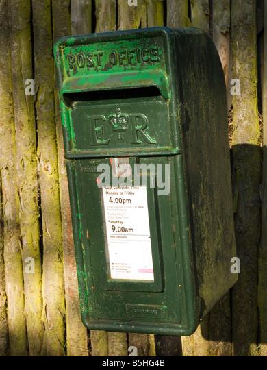how to make a royal mail post box