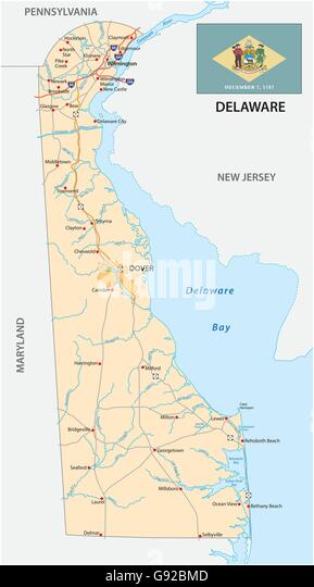 Delaware On The Us Map fidorme