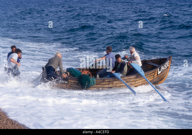 Traditional seine net fishing catch stock photos for Seine net fishing