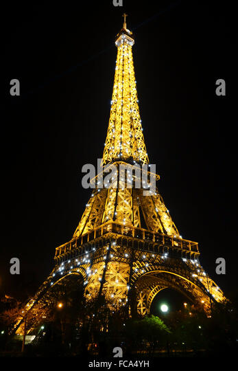 Eiffel Tower Restaurant France Stock Photos Eiffel Tower Restaurant Fra