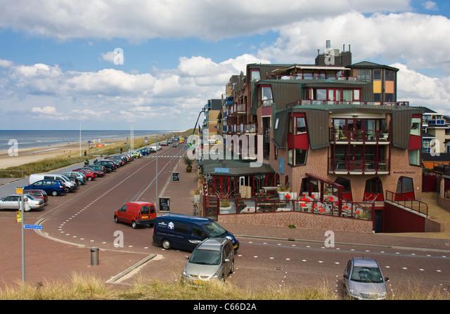 Holland Seaside Resort Beach Stock Photos Holland