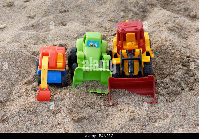 Digging Toys For Boys : Playing dig digging hole stock photos