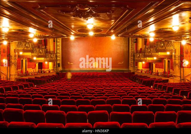 Theatre Seats Row Stock Photos Theatre Seats Row Stock Images Alamy