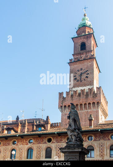 castle clock tower