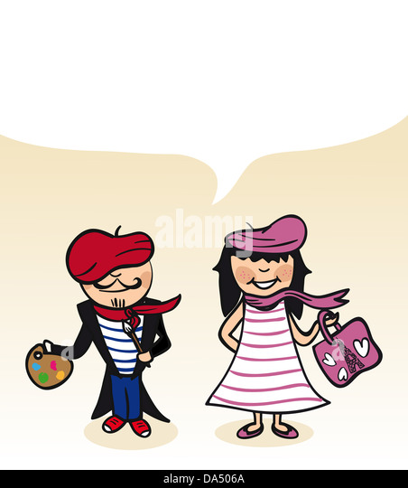 French Fashion Clipart