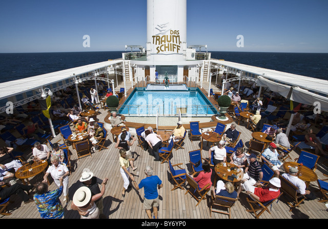 Women Dancing On Deck Cruise Stock Photos Women Dancing On Deck - Cruise ship theme party