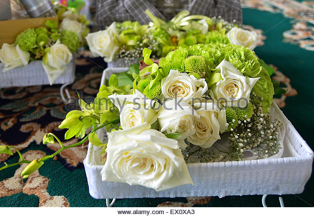 Wedding Gift Ideas For Bride Malaysia : ... gift on a wedding day. Malay wedding ceremony in Malaysia.Stock