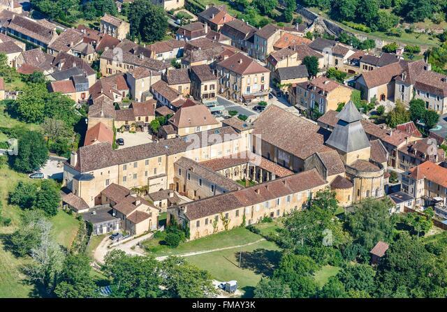 Cadouin France  City pictures : France, Dordogne, Le Buisson de Cadouin, Cadouin, the village and ...