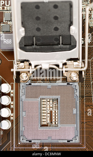 Small brown slot on motherboard
