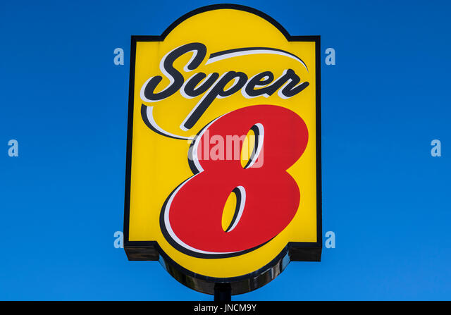 super 8 motel sign stock photos & super 8 motel sign stock images