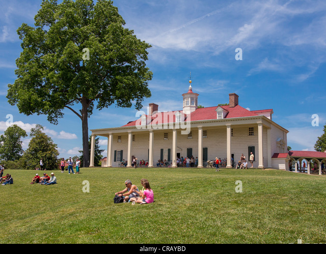 Mount vernon stock photos mount vernon stock images alamy for George washington plantation