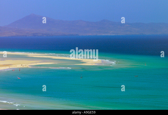 Jandia Fuerteventura Beaches Stock Photos & Jandia Fuerteventura Beaches ...