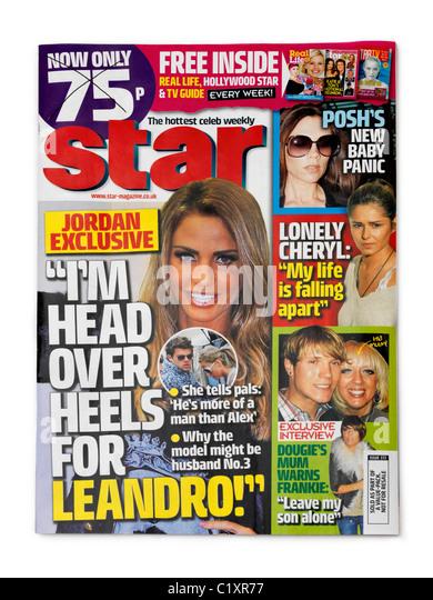 Celebrity gossip magazine list