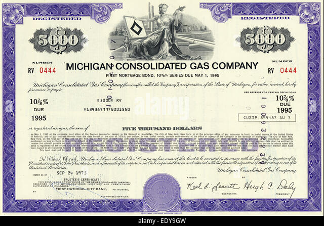 Historic Share Certificate Stock Photos & Historic Share Certificate ...