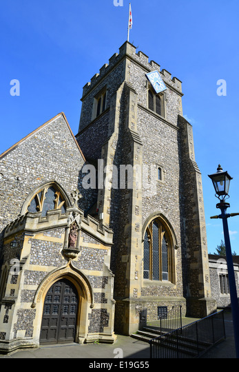 St Martin s Church  High Street  Ruislip  London Borough of Hillingdon   Greater London. Ruislip Suburbs London Uk Stock Photos   Ruislip Suburbs London Uk