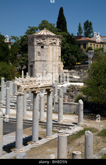 Tower Of The Winds Greece Stock Photos & Tower Of The ...