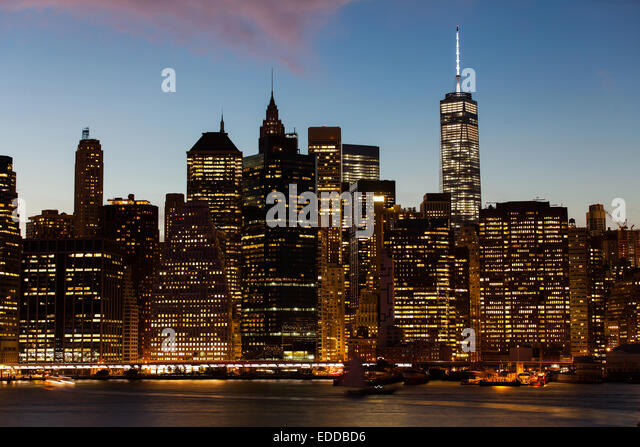 New york city beautiful sunset stock photos new york for New york city beautiful