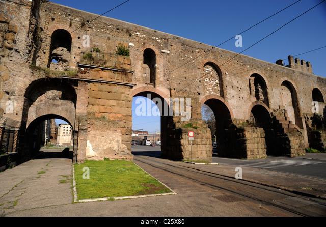 Aqueduct rome stock photos aqueduct rome stock images - Rome porta maggiore ...