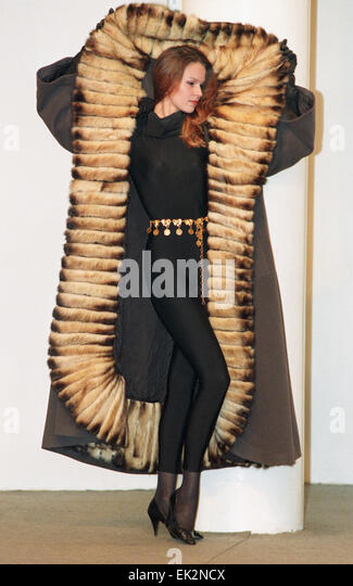 Coats Fur Models Stock Photos & Coats Fur Models Stock Images - Alamy