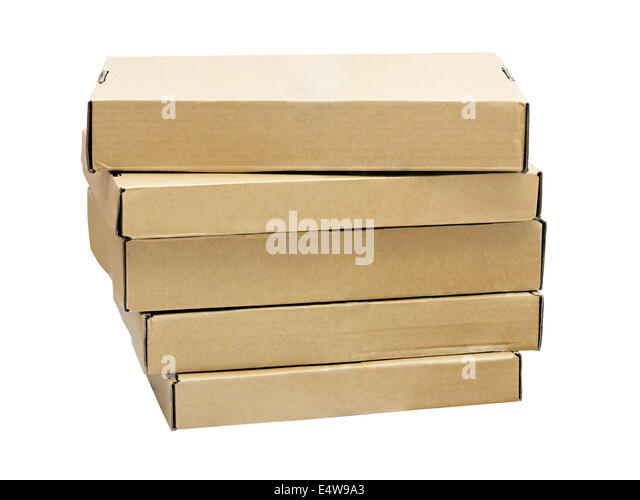 flat pack boxes stock photos flat pack boxes stock. Black Bedroom Furniture Sets. Home Design Ideas