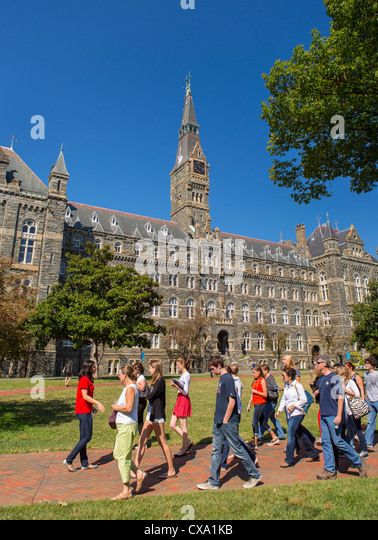 Georgetown University Group Tours