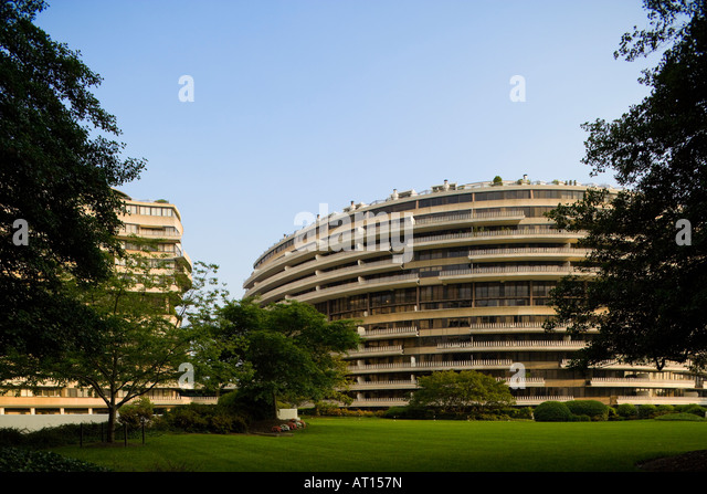 The Watergate Complex Washington DC US USA. Facade Of The Offices Of 600  New Hampshire