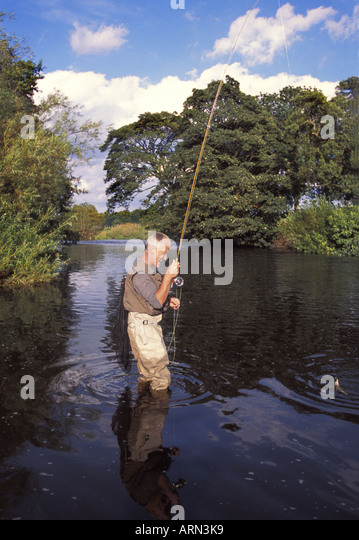 Uk trout salmon game fishing stock photos uk trout for River fishing games