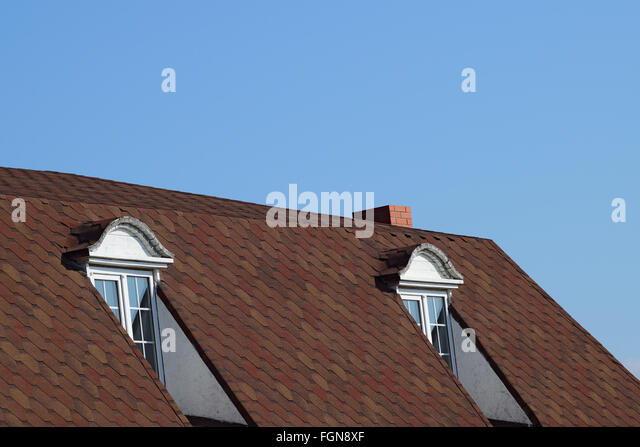 A house with a roof made of metal sheets. The house with gables windows & Roof Gables Stock Photos u0026 Roof Gables Stock Images - Alamy memphite.com