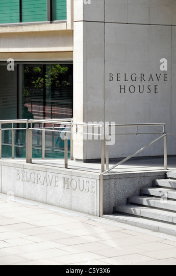 belgrave house google london office entrance stock image belgrave house google london office