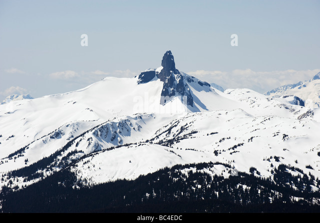 Black tusk bc stock photos black tusk bc stock images alamy black tusk seen from whistler peak mountain resort venue of the 2010 winter olympic games sciox Choice Image