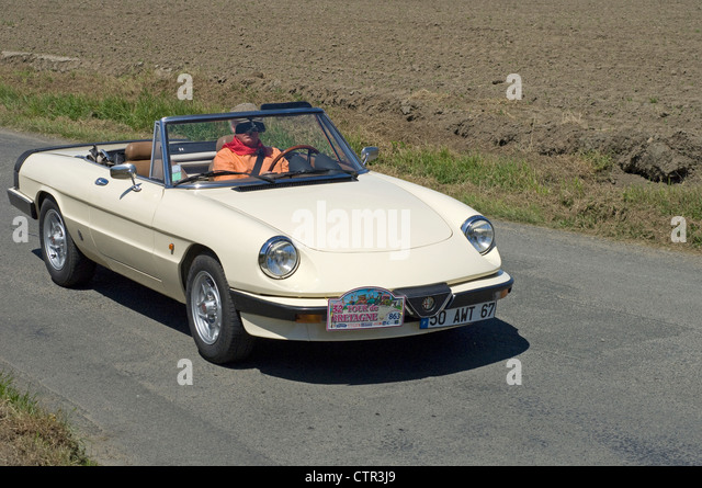 alfa romeo spider stock photos alfa romeo spider stock images alamy. Black Bedroom Furniture Sets. Home Design Ideas