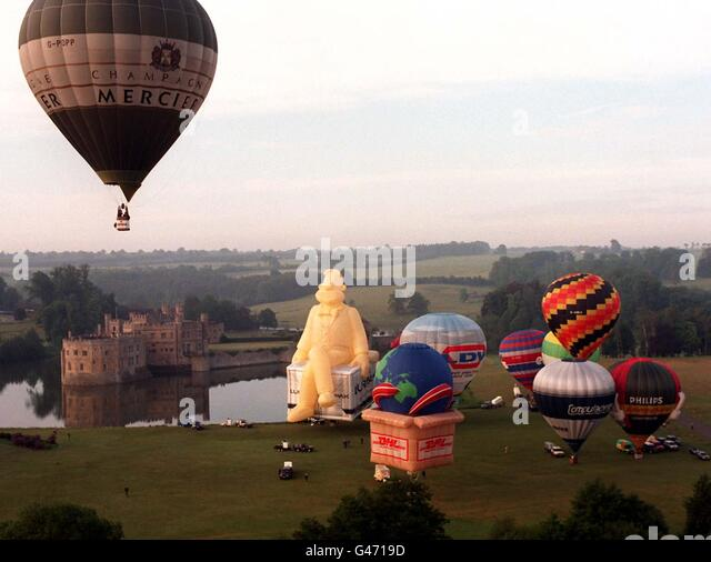 Leeds castle balloon
