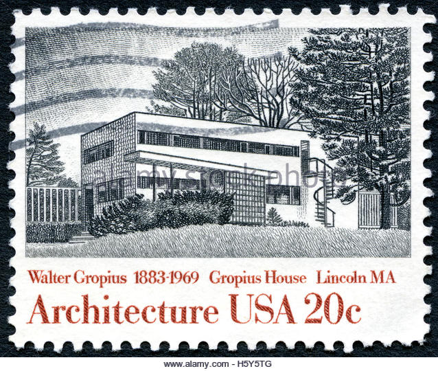 Gropius stock photos gropius stock images alamy for New york state architect stamp