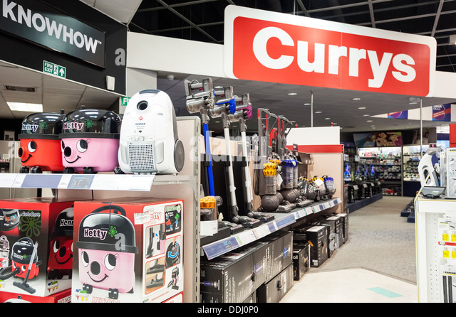 Henry Vacuum Cleaners For Sale In A Currys Store Exeter UK