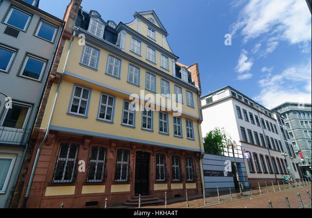Goethehaus Stock s & Goethehaus Stock Alamy