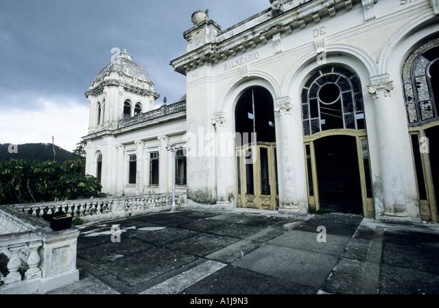 the turreted mansionlike hotel the balneario san miguel de los baos in