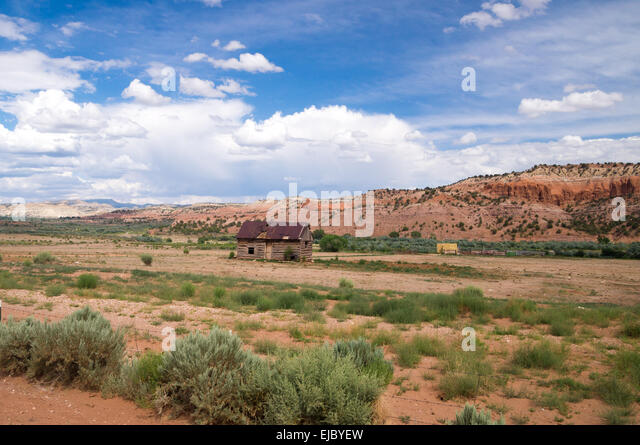 Ranch style stock photos ranch style stock images alamy for Utah rural housing