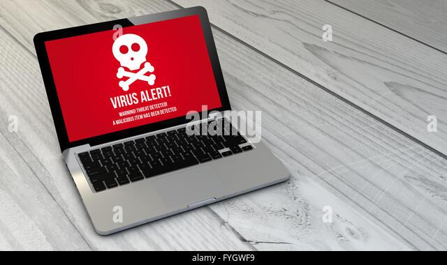 computer virus alert stock photos amp computer virus alert
