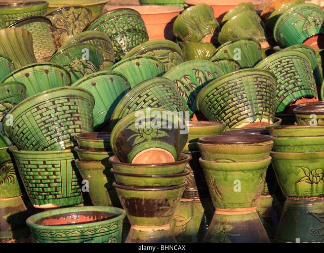 Ceramic Pots For Sale Part - 41: Myanmar, Burma, Bagan, Ceramic Pots For Sale, Handicraft, Shopping, -