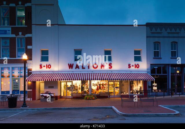 Bentonville Arkansas Restaurant Near Original Walmart