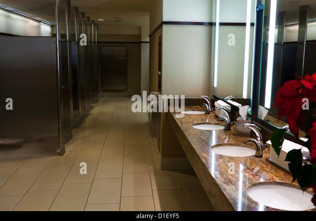 Mens Public Restroom Stock Photos