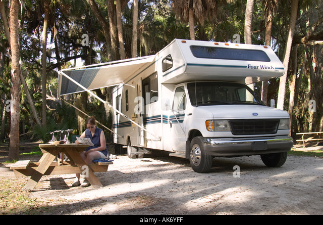 Qinta do Lago Portugal  city images : MR camping with RV Ford in Myakka River State Park Florida Cabin Four ...