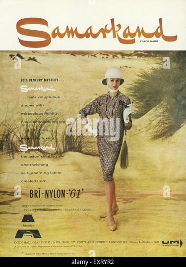 As Nylon Fabric Advertisements