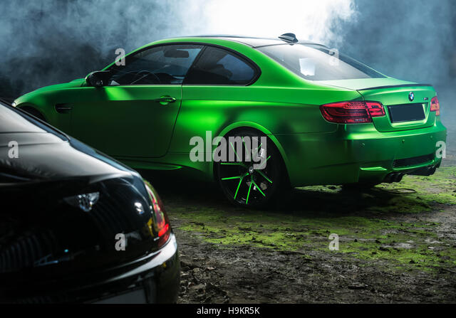 BMW M3 Coupe Tuning   Stock Image