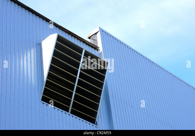 Industrial Building Ventiltors : Ventilation building stock photos
