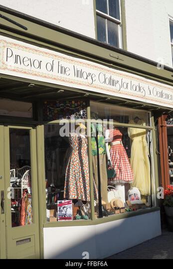 Vintage Dress Shop Stock Photos & Vintage Dress Shop Stock Images ...