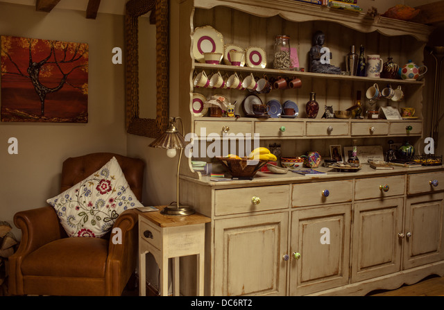 Kitchen Dresser kitchen dresser top Traditional Kitchen Dresser Stock Image