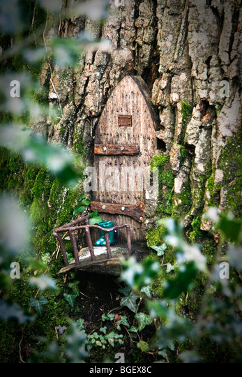 Fairy door stock photos fairy door stock images alamy for Fairy doors for trees