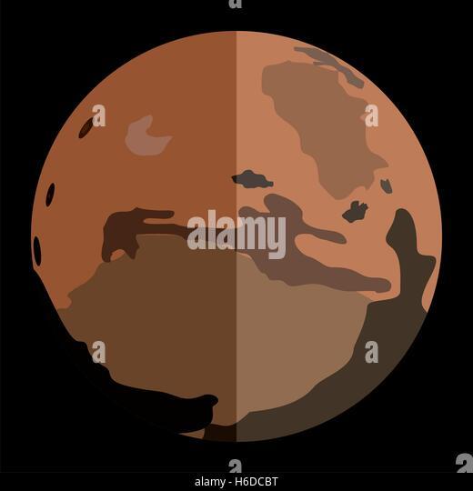 mars planet vector - photo #9