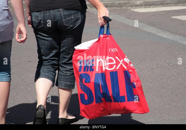 Next Shopping Bag Stock Photos & Next Shopping Bag Stock Images ...